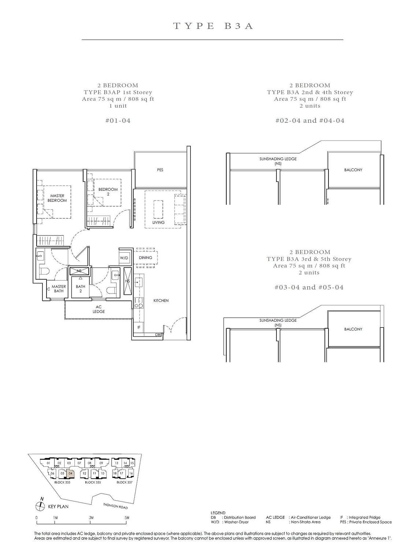 Peak Residence Peak Residence Floorplan B3AP