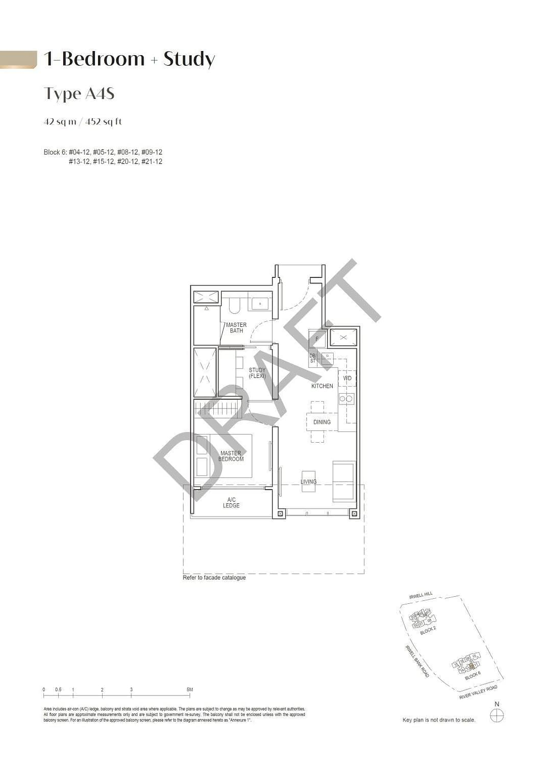 Irwell Hill Residences Irwell Hill Residences floorplan type A4S