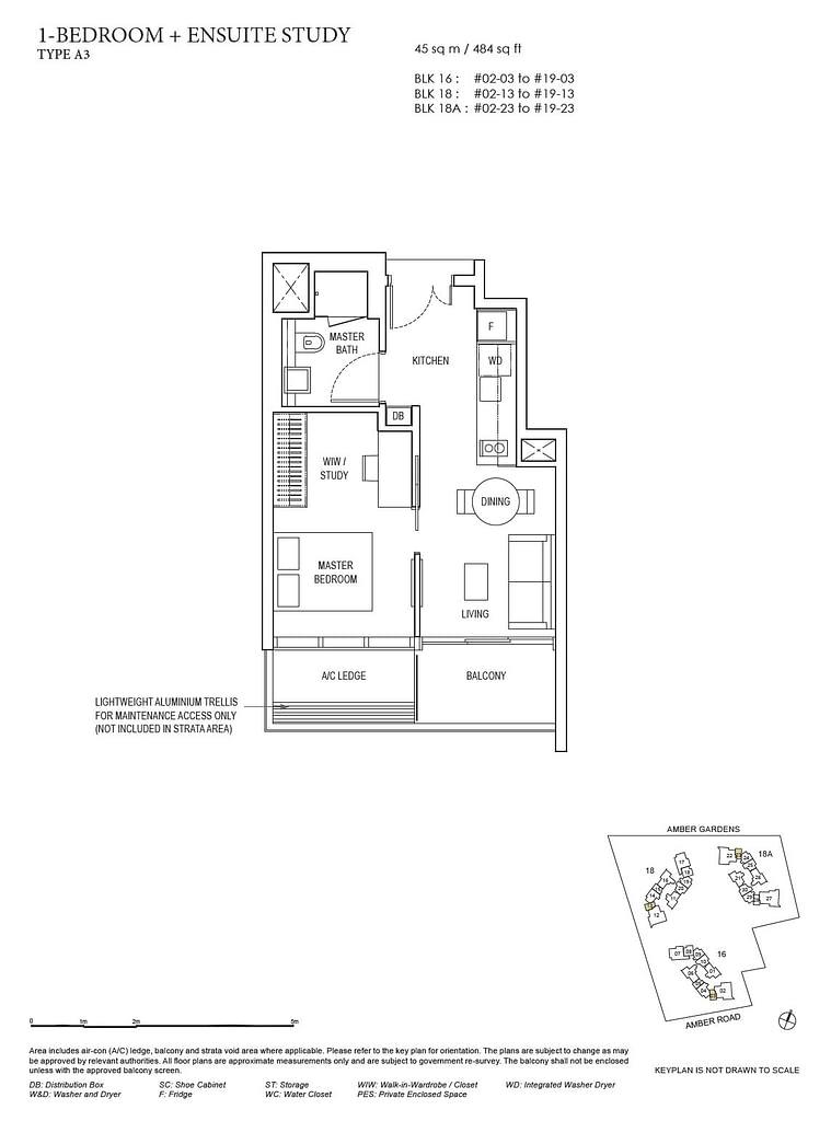 Amber Park Amber Park floorplan layout A3