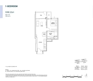 Penrose Penrose floorplan 1c1