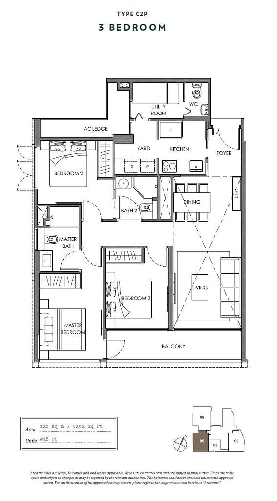 Nyon Nyon floorplan type C2P