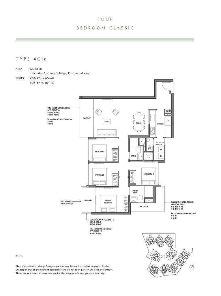 Parc Komo Parc Komo floorplan type 4C1a