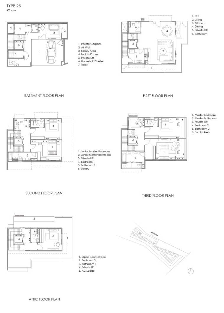 Parkwood Collection Parkwood Collection Floorplan 2B