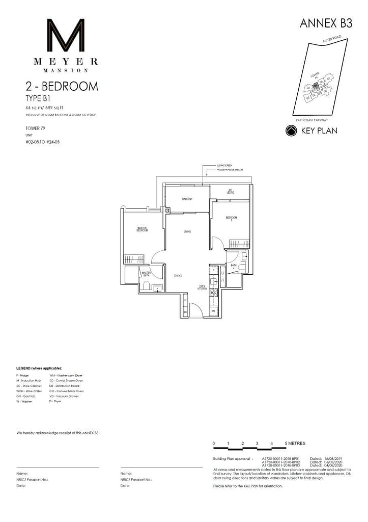 Meyer Mansion Meyer Mansion floorplan type B1