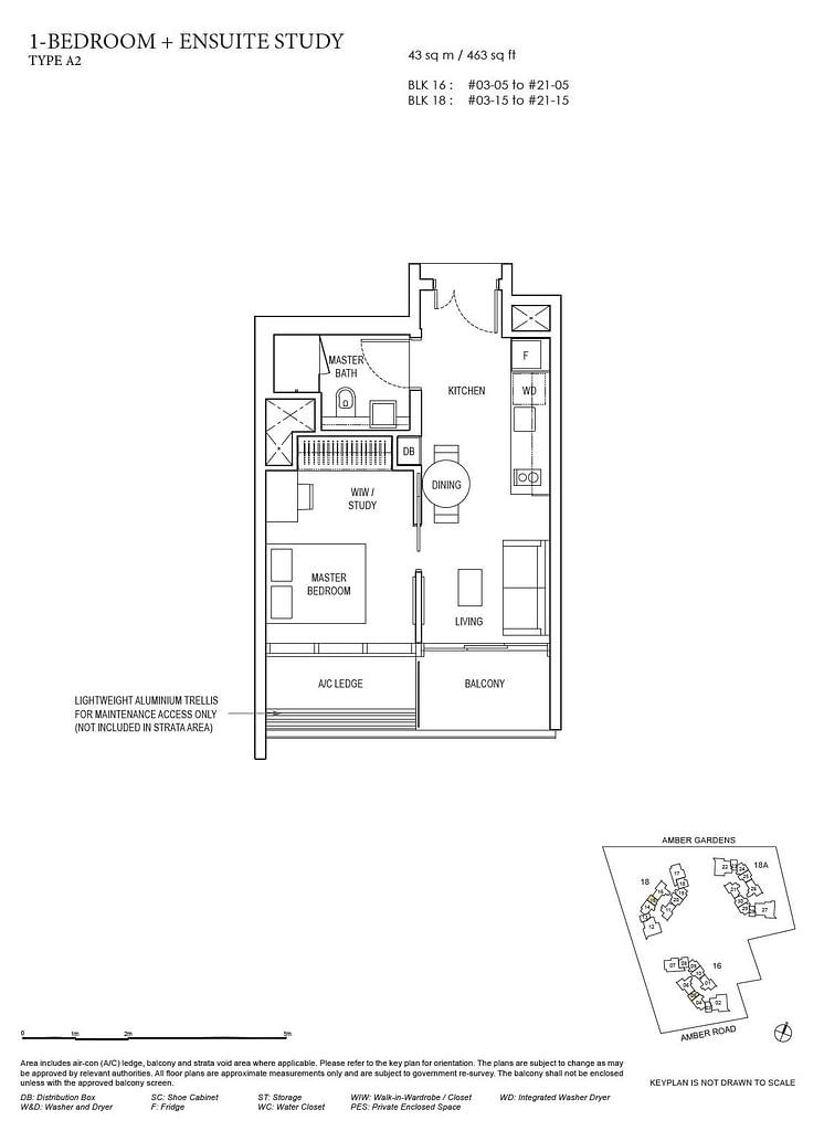 Amber Park Amber Park floorplan layout A2