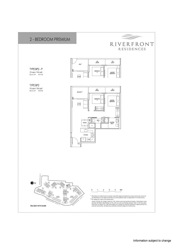 Riverfront Residences Riverfront Residences Floorplan BP2 P scaled