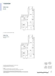 Penrose Penrose floorplan 1a1