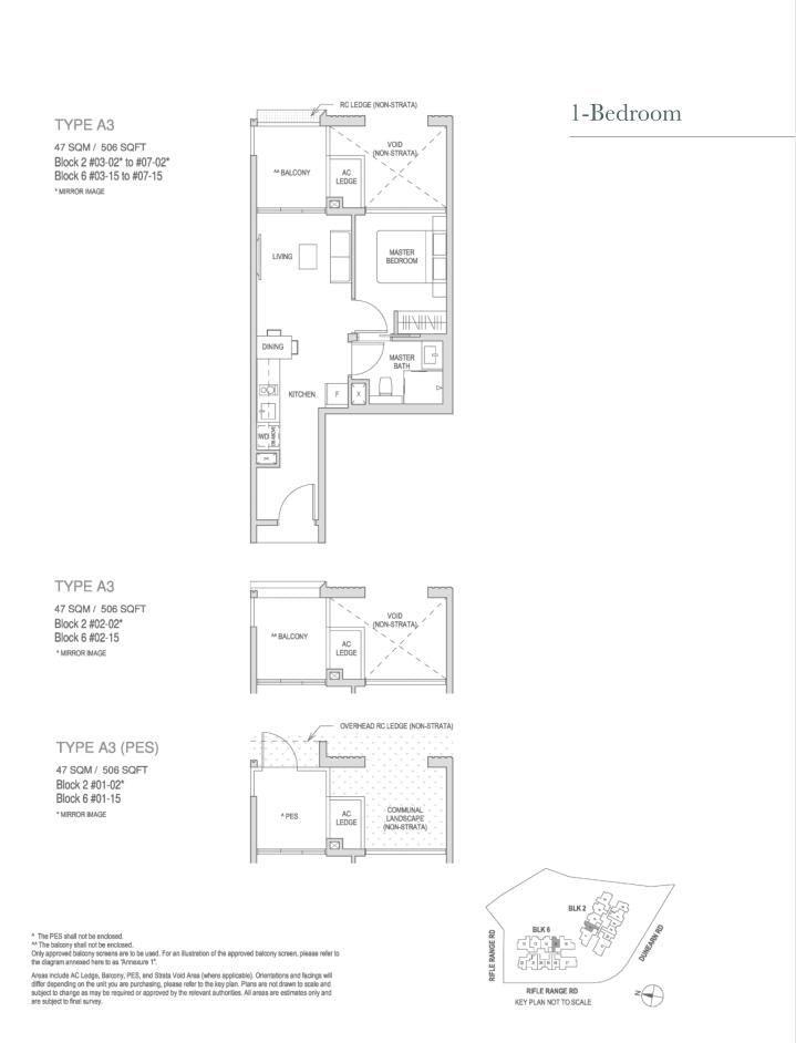 Mayfair Modern Mayfair Modern floorplan type A3