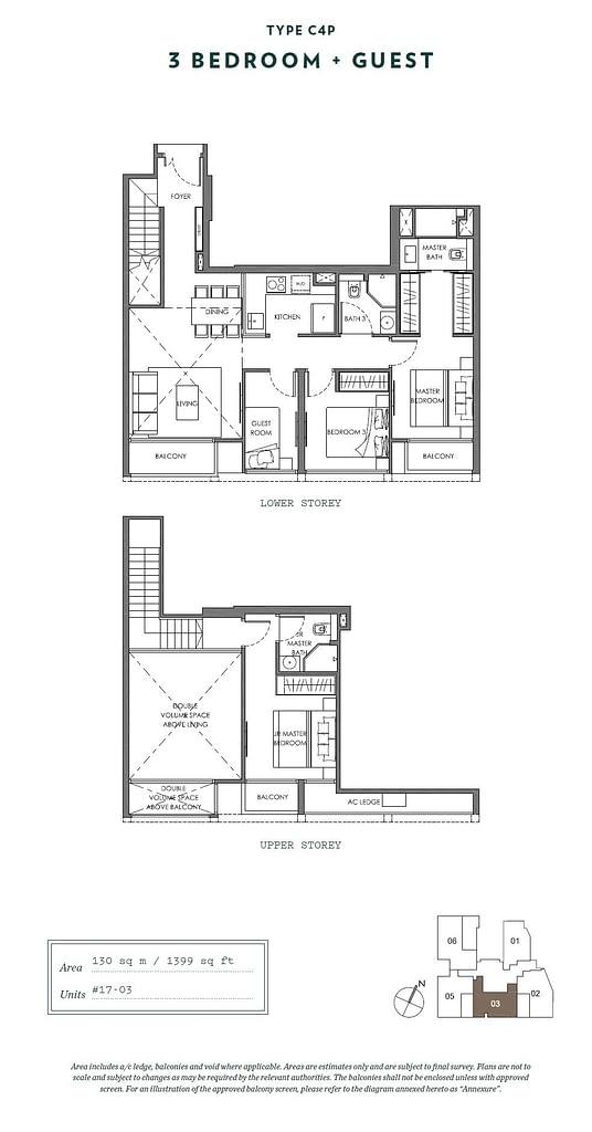 Nyon Nyon floorplan type C4P
