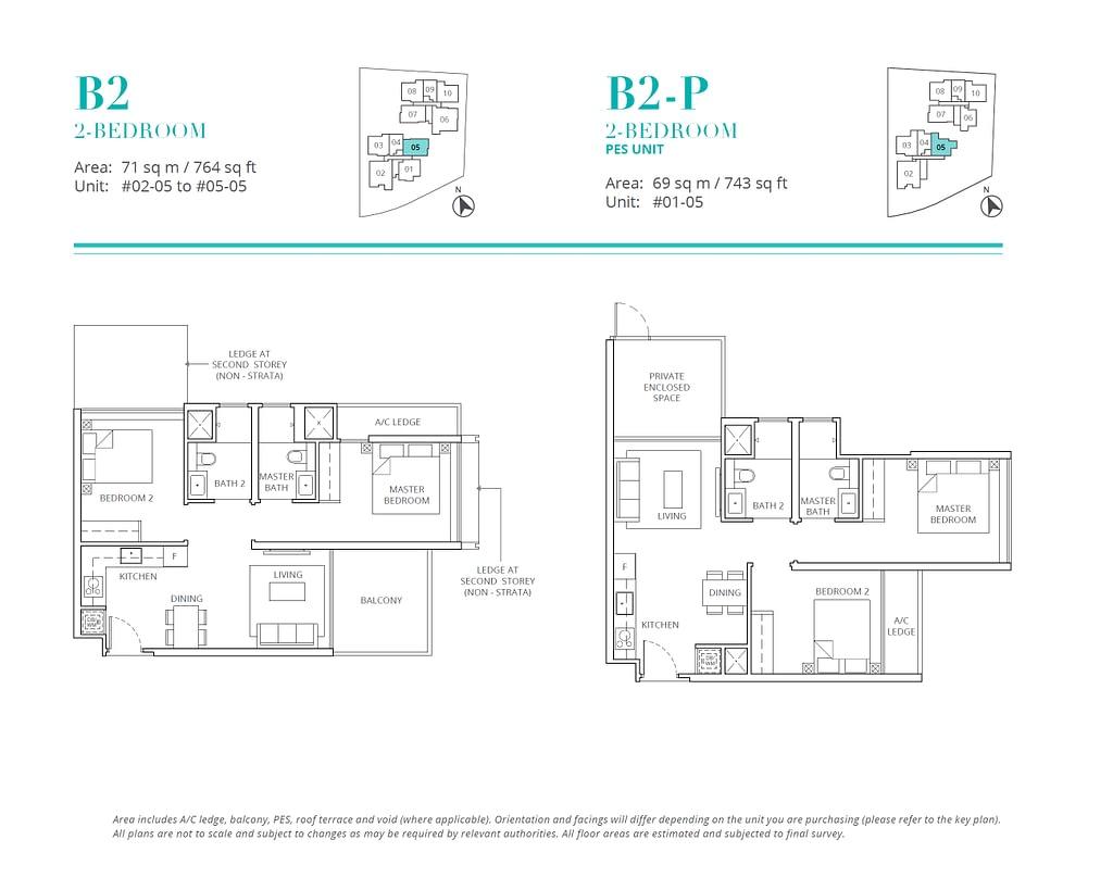 Casa Al Mare Casa Al Mare floorplan type B2