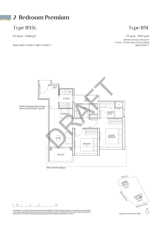 Irwell Hill Residences Irwell Hill Residences floorplan type B9b