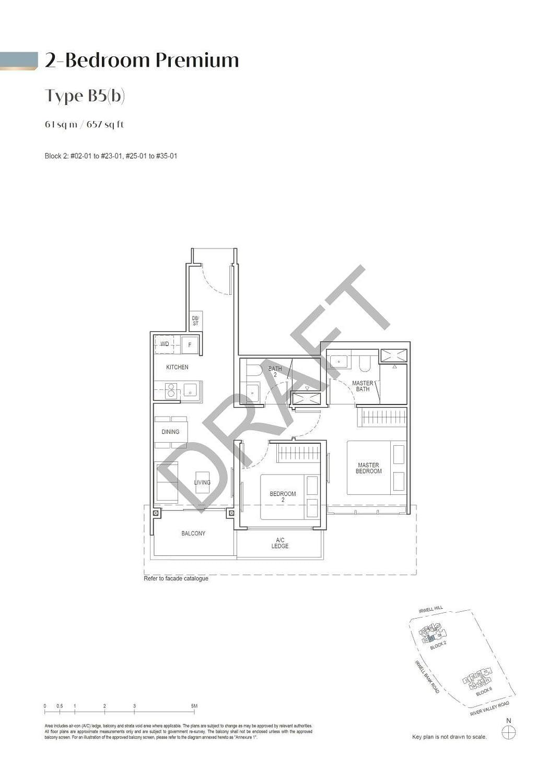 Irwell Hill Residences Irwell Hill Residences floorplan type B5b