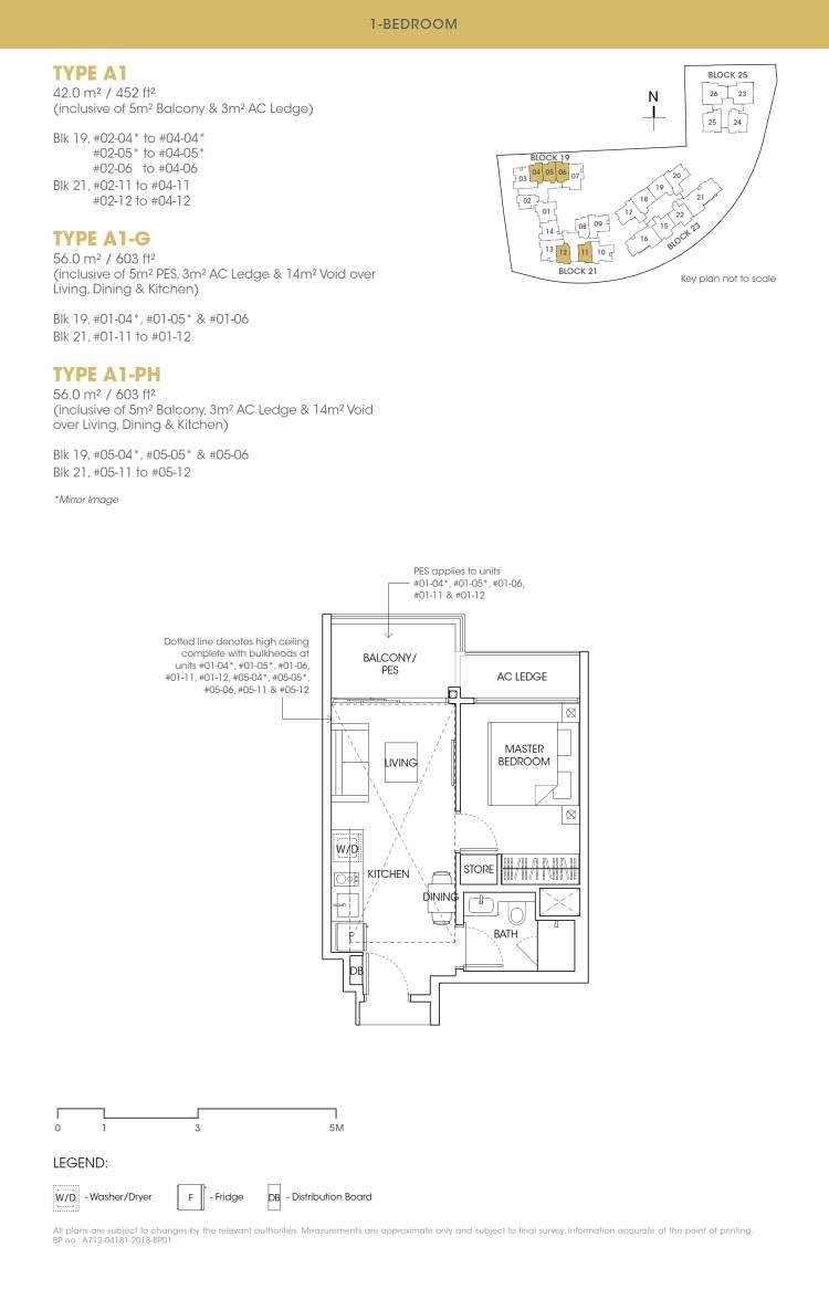 Antares Antares floorplan type A1 G