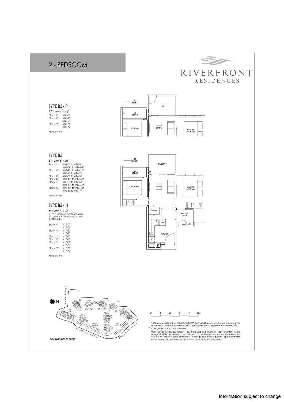 Riverfront Residences Riverfront Residences Floorplan B3 P scaled