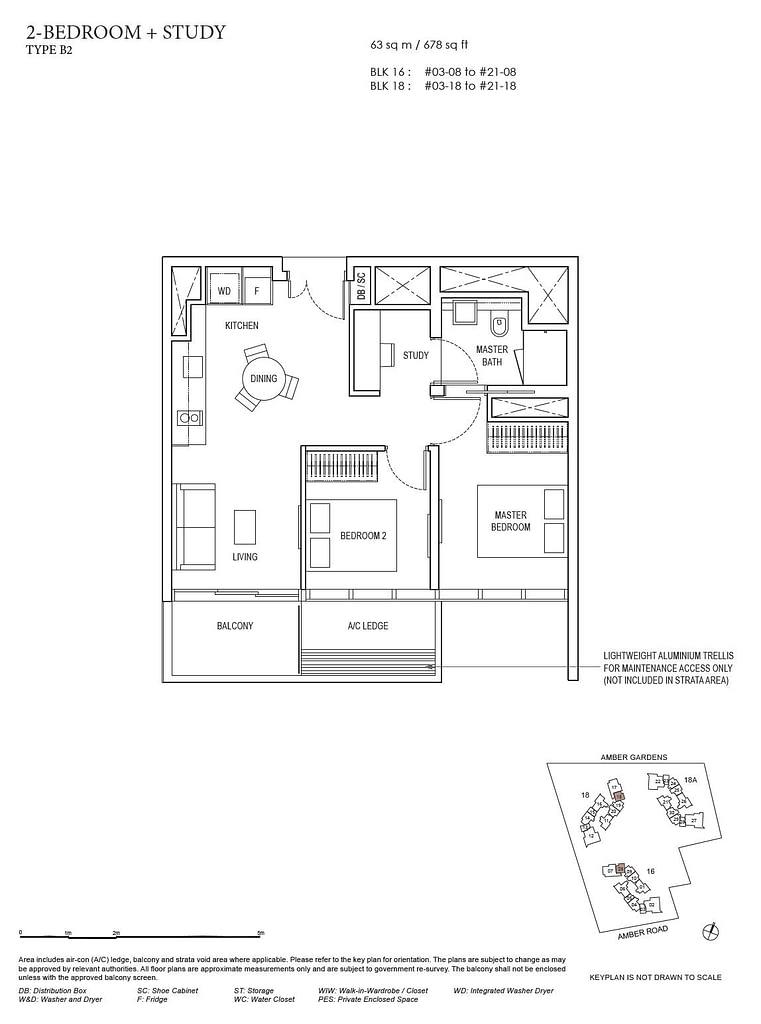 Amber Park Amber Park floorplan layout B2