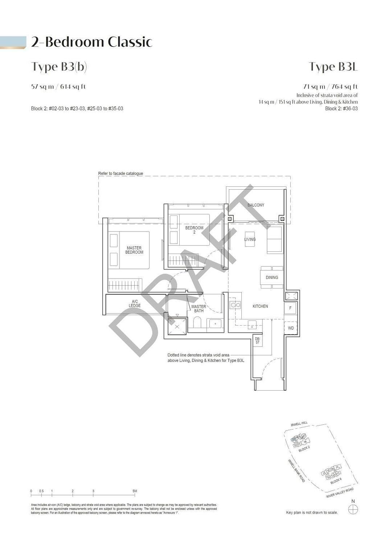 Irwell Hill Residences Irwell Hill Residences floorplan type B3L