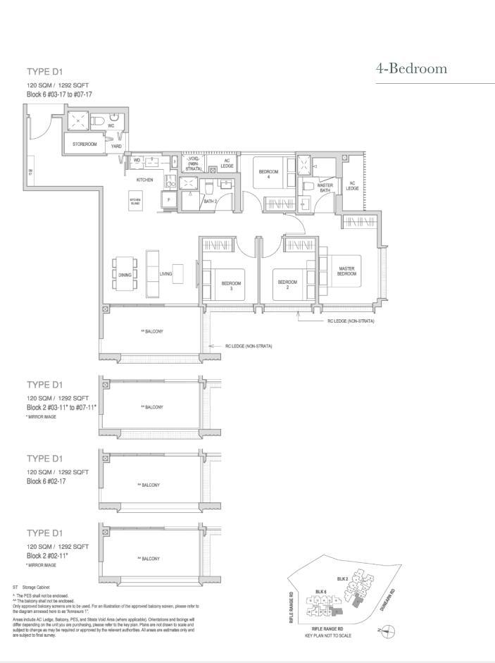 Mayfair Modern Mayfair Modern floorplan type D1