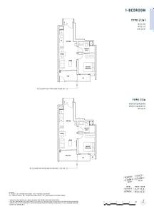 Penrose Penrose floorplan 1b1
