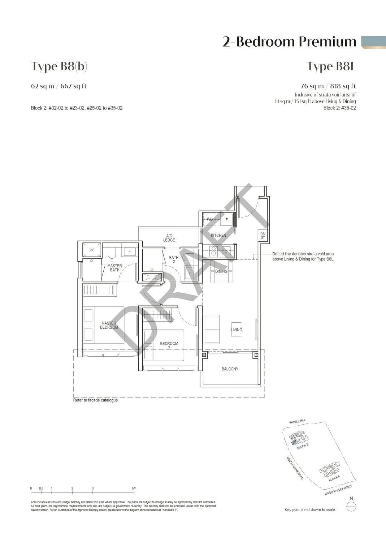 Irwell Hill Residences Irwell Hill Residences floorplan type B8b