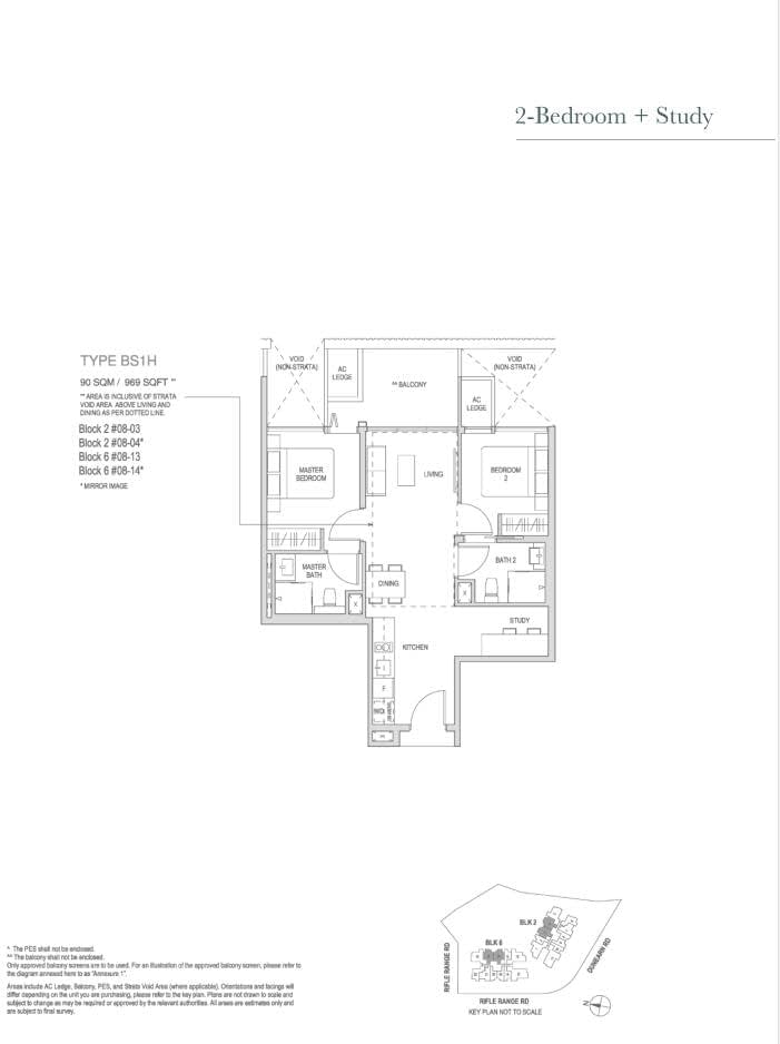 Mayfair Modern Mayfair Modern floorplan type BS1H