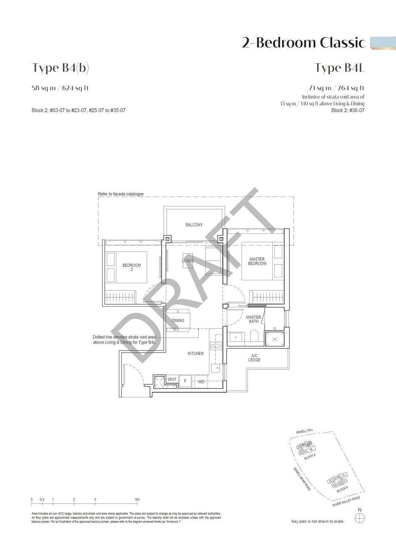 Irwell Hill Residences Irwell Hill Residences floorplan type B4b