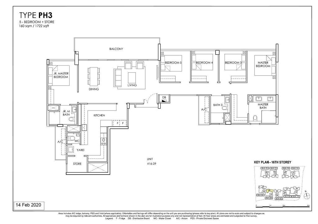 OLÁ OLA floorplan type PH3