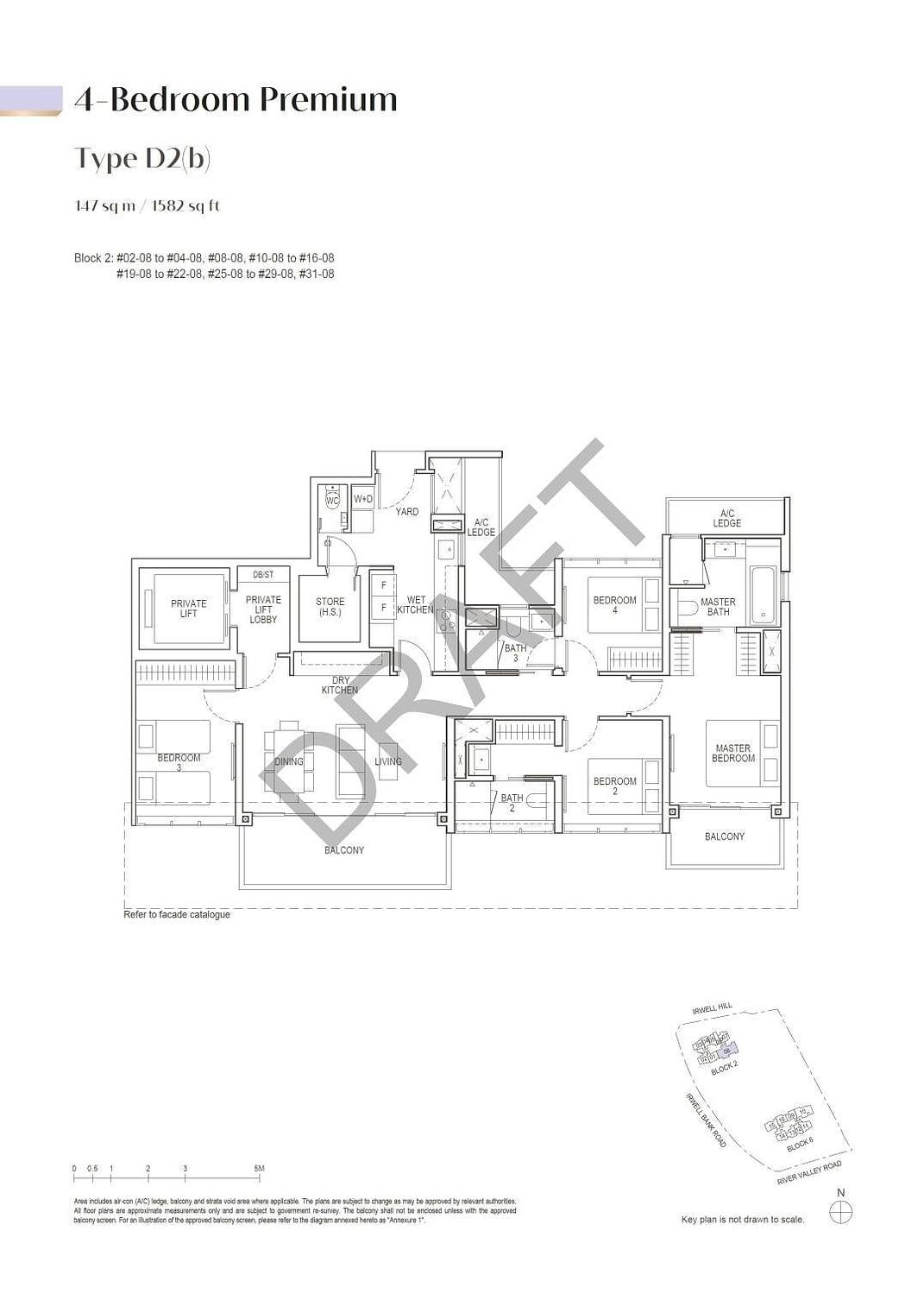 Irwell Hill Residences Irwell Hill Residences floorplan type D2b
