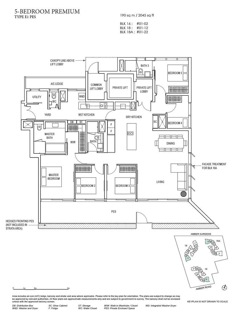 Amber Park Amber Park floorplan layout E1 PES